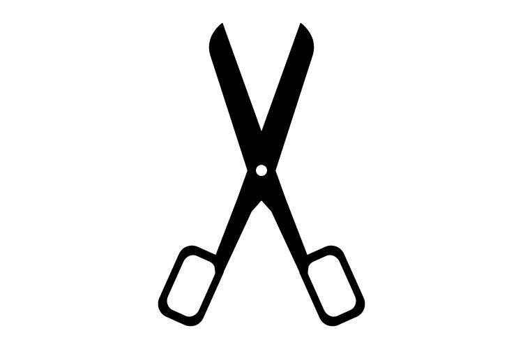 Scissor icon example image 1