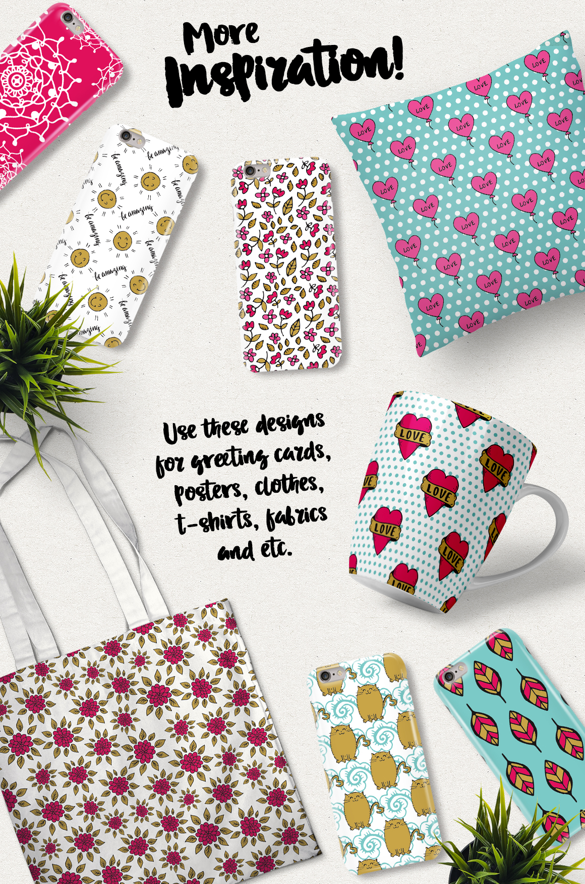 70 Valentine's Day Seamless Patterns example image 5