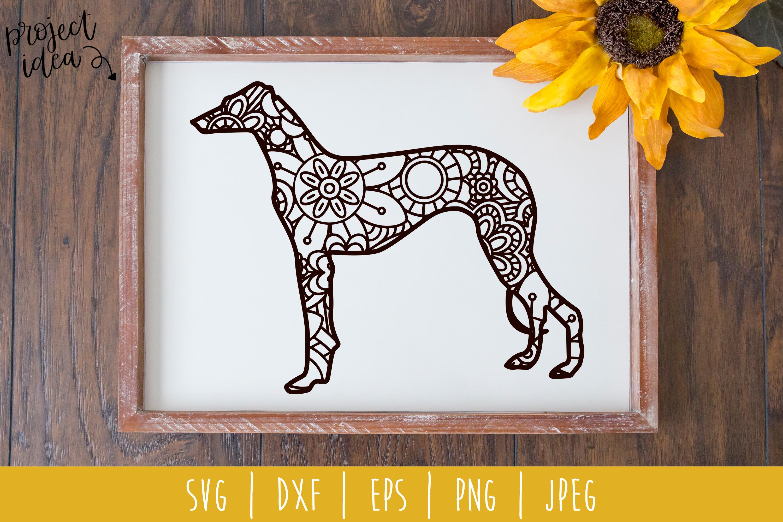 Dog Mandala Zentangle Bundle Set of 22 - SVG example image 17