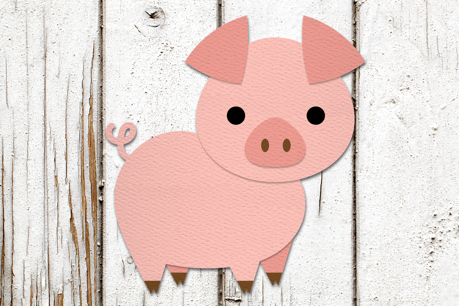 Farm Animal Party Banner SVG Design Bundle example image 3