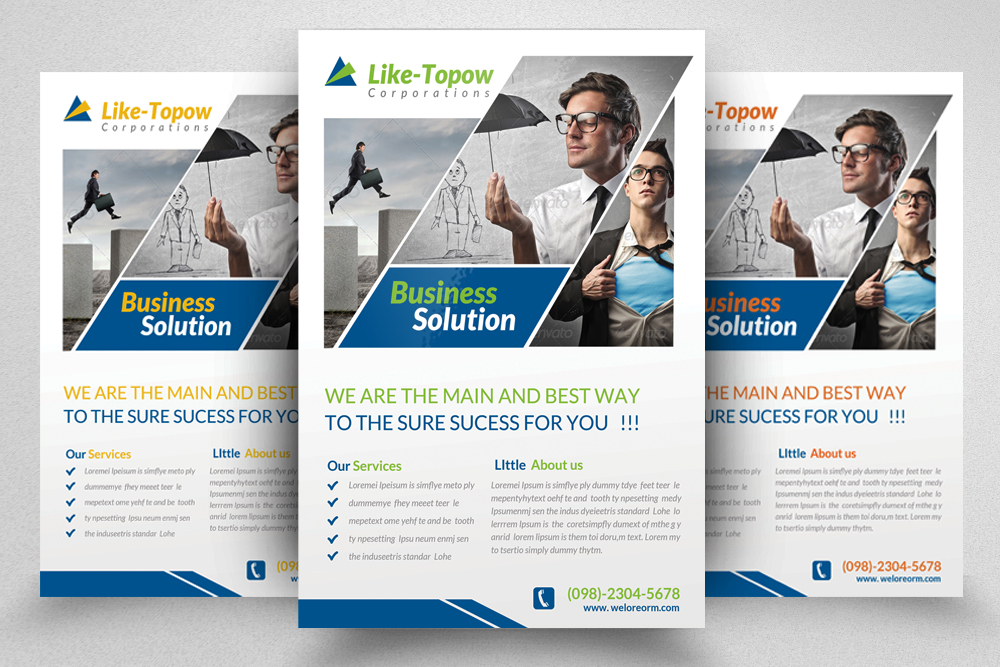 6 Creative Business Flyers Bundle example image 7
