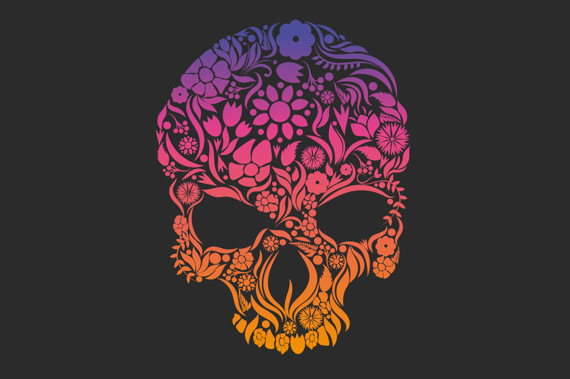 Herbs Skull example image 3