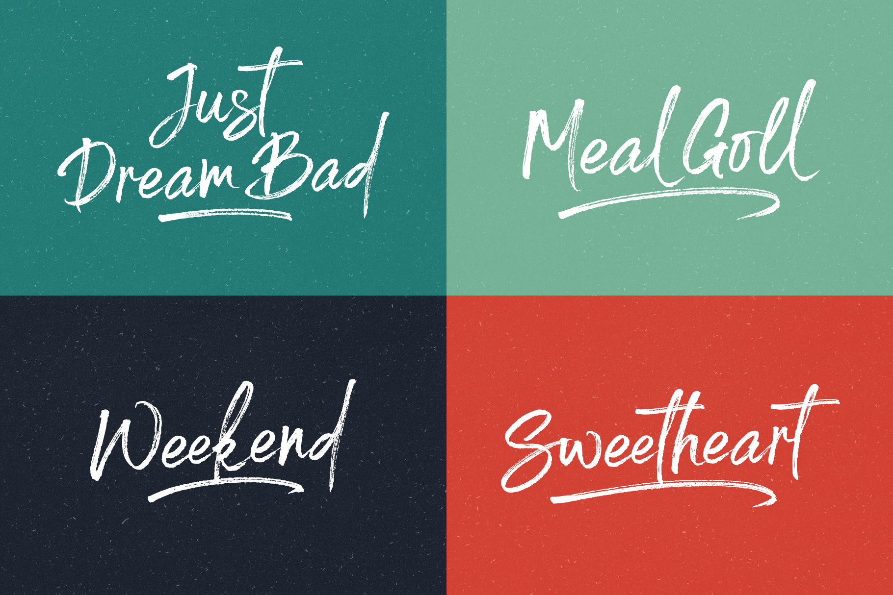 Spoiled Brush Font example image 5
