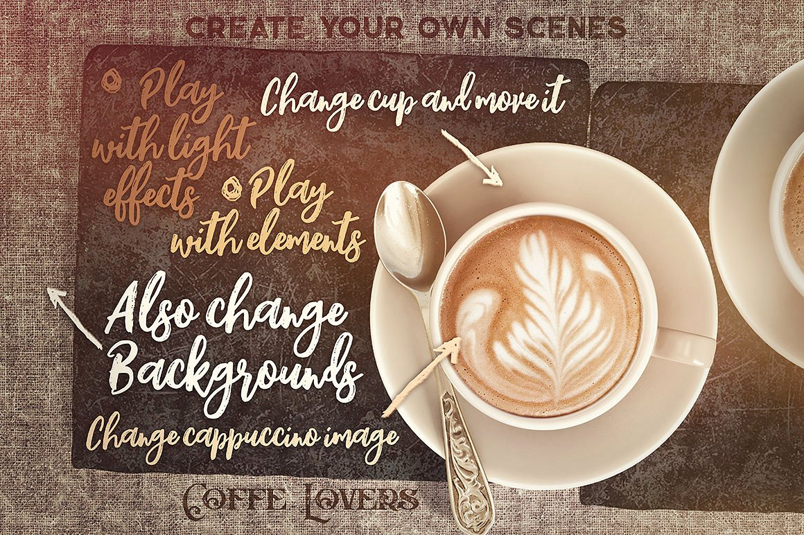 Coffee Scene Creator example image 2