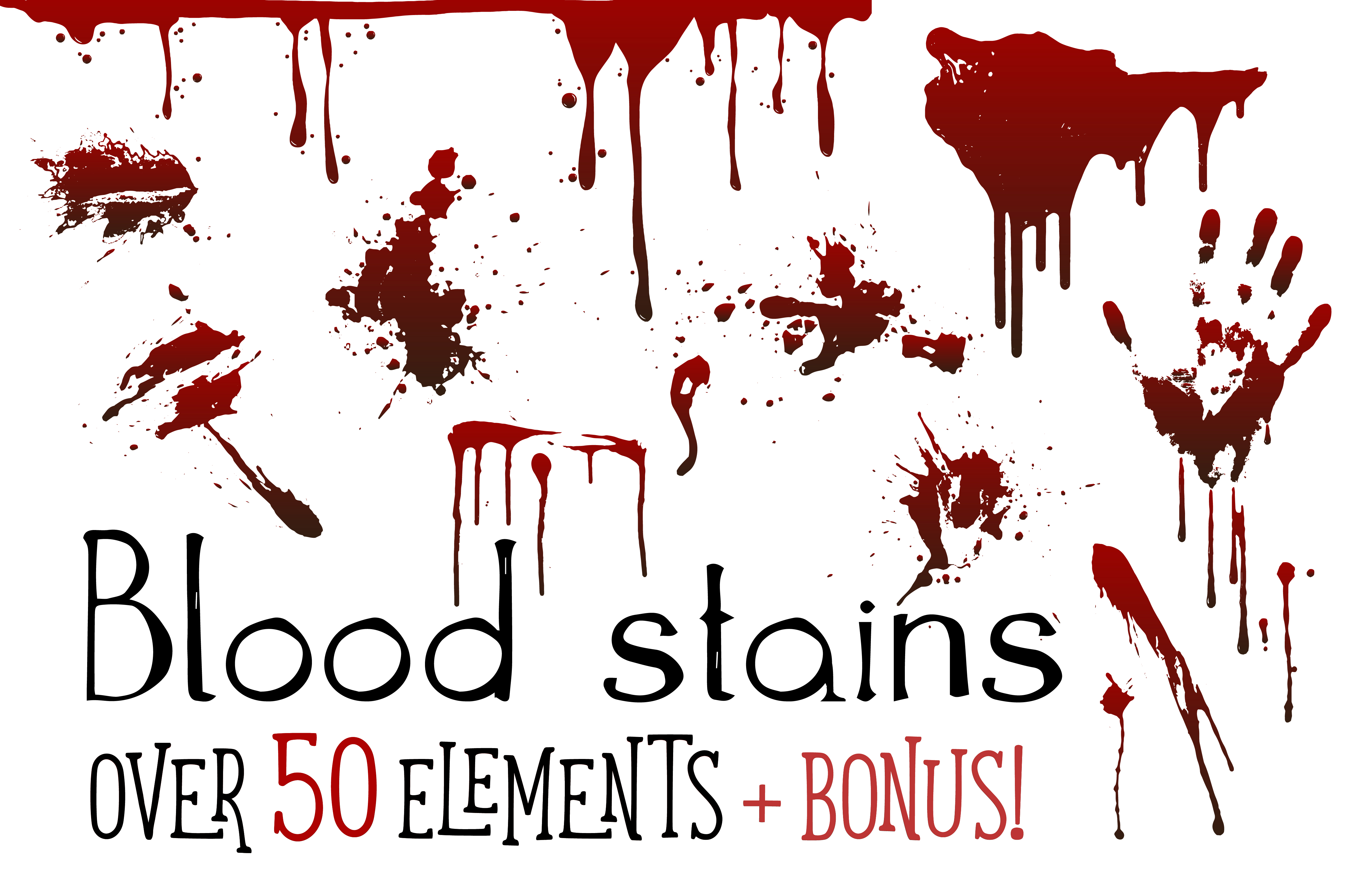 Blood stains example image 1