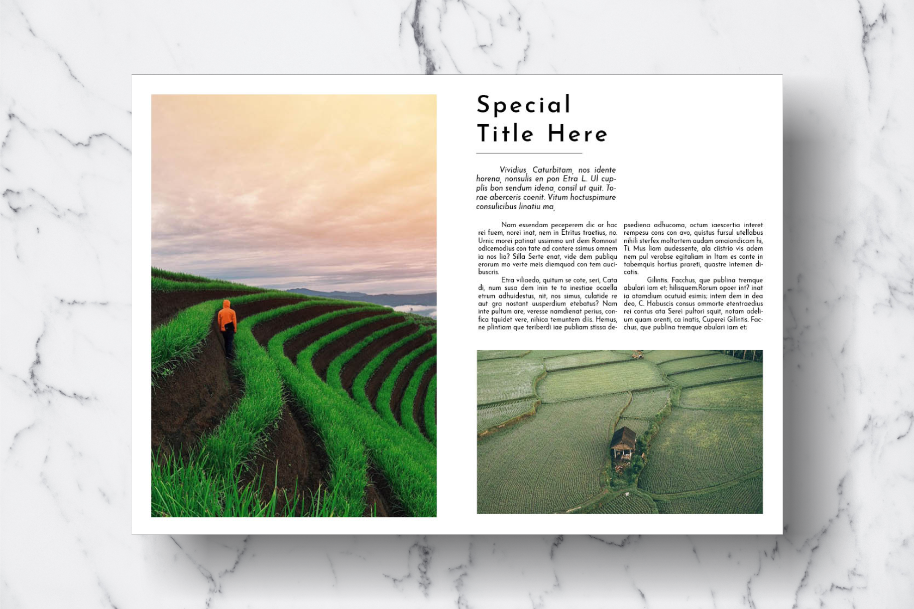 Magazine Template Vol. 18 example image 6
