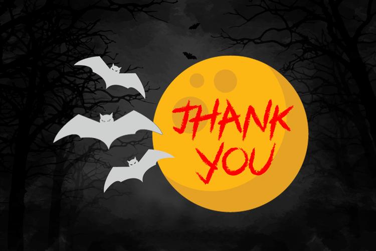 Black Halloween - Spooky Font example image 8