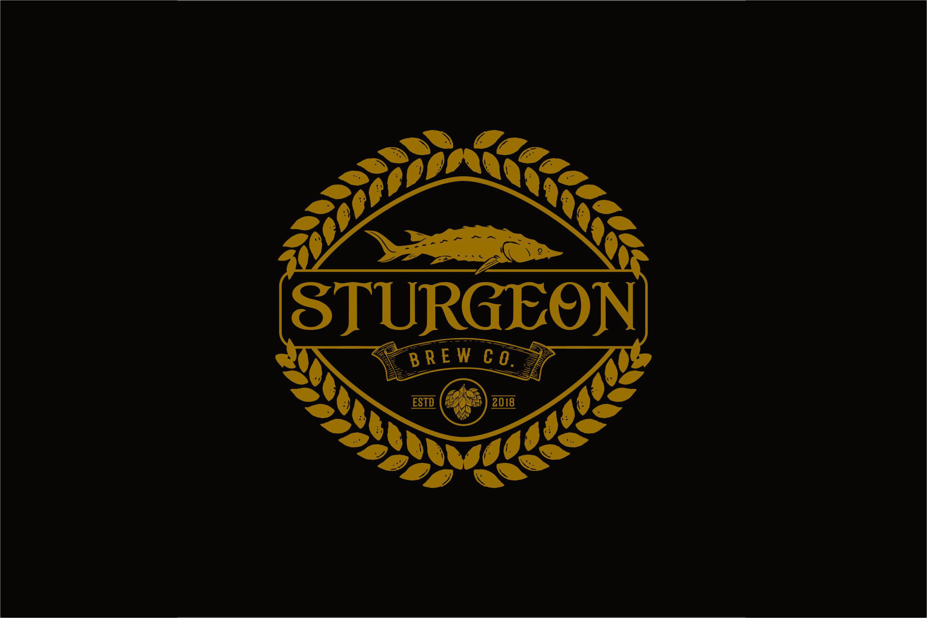 Sturgeon Vintage Logo Pack example image 5