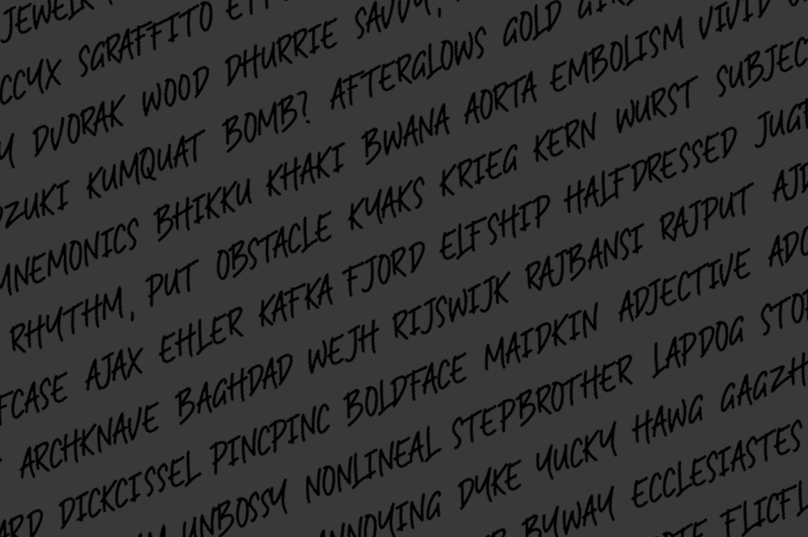 RAMPHOX | Strong Display Font example image 8