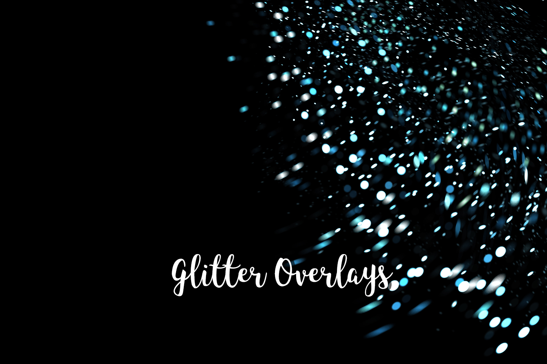 Glitter Dust Overlays, Glitter Bokeh Texture Overlays example image 10