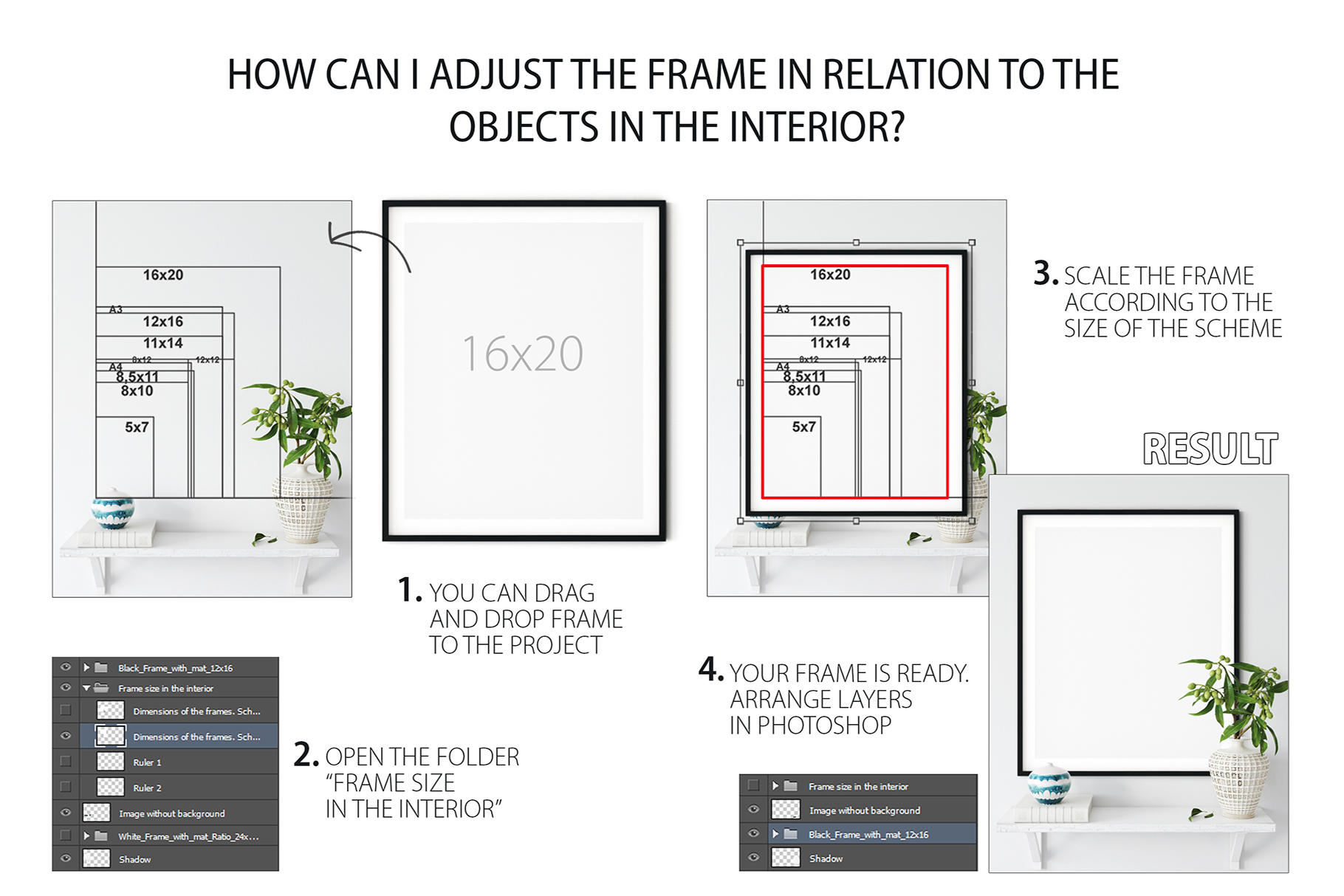 Frames & Walls Coastal Mockups Bundle example image 29