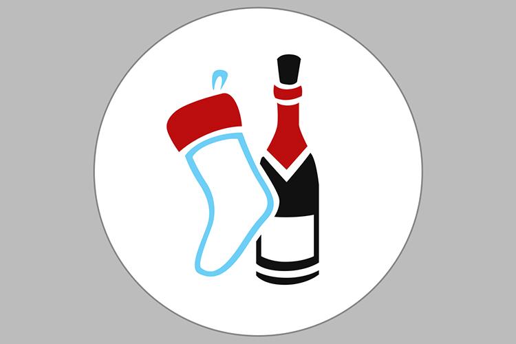 Crhistmas Wine Party Bundle example image 10
