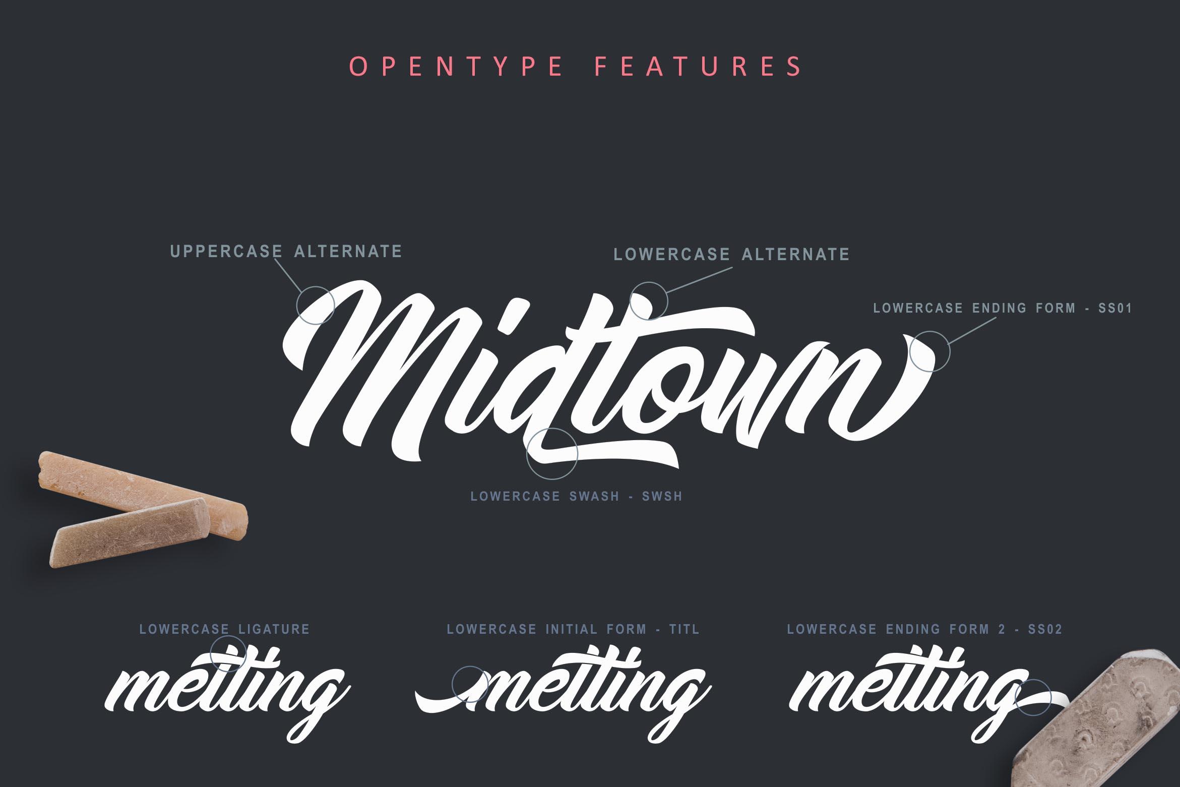 Midtown Stylish Font example image 2