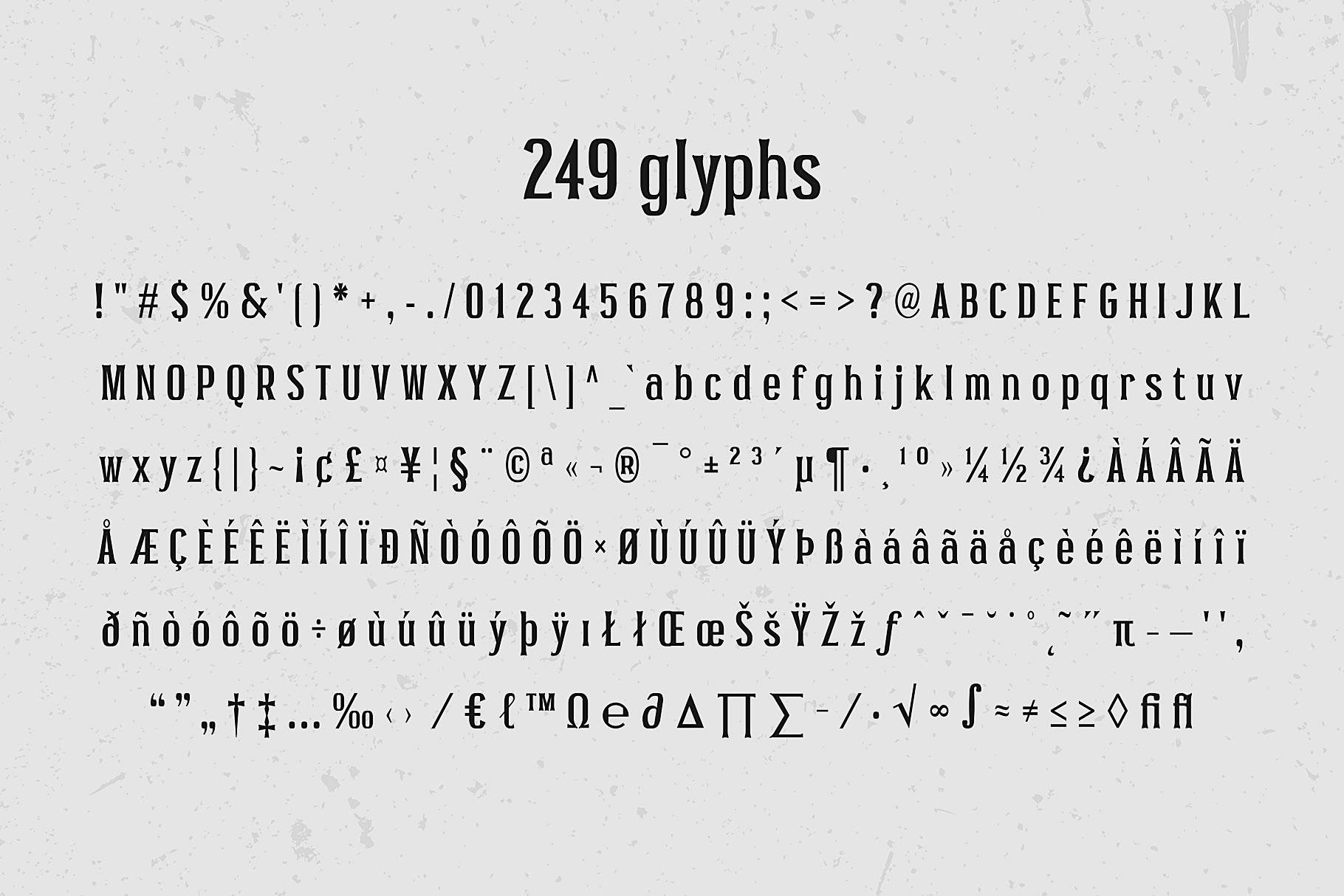 Pocus Primera   Condensed Style Font example image 10