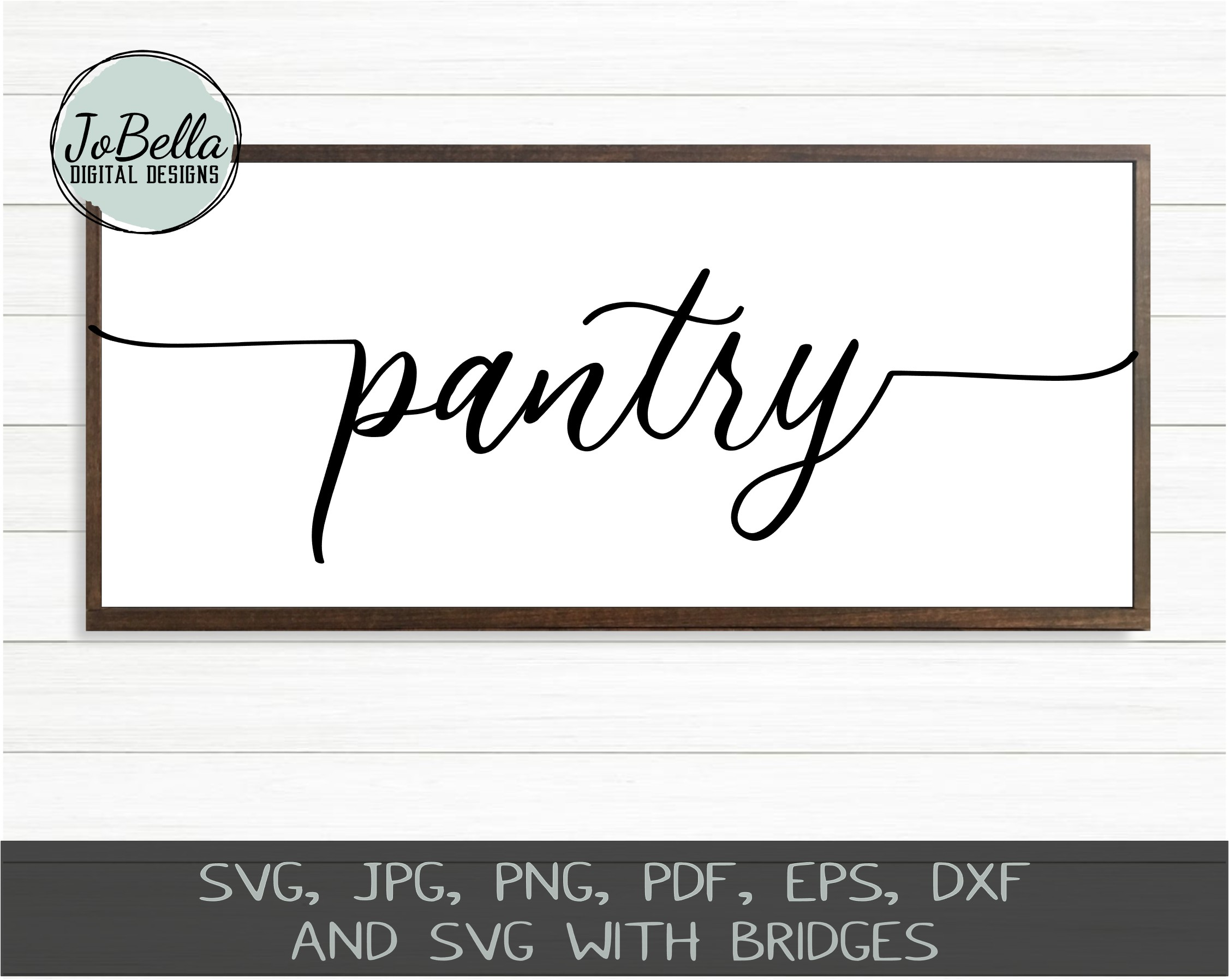 Farmhouse Home Words SVG Bundle, PNGs and Printables example image 4