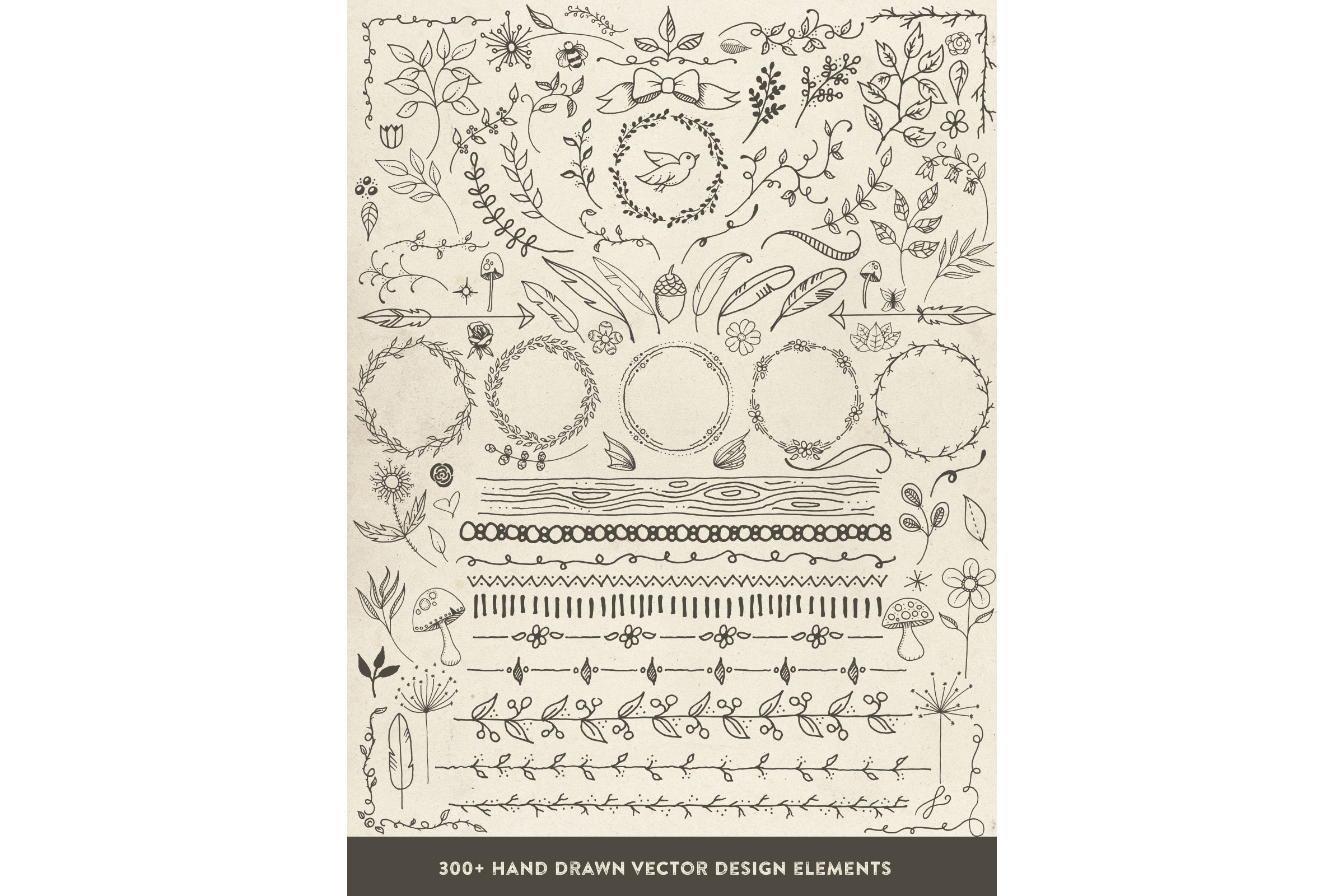 Hand Drawn Vector Design Elements example image 2