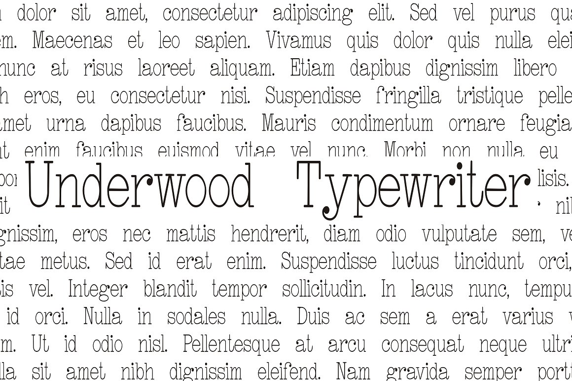 Underwood Typewriter example image 1