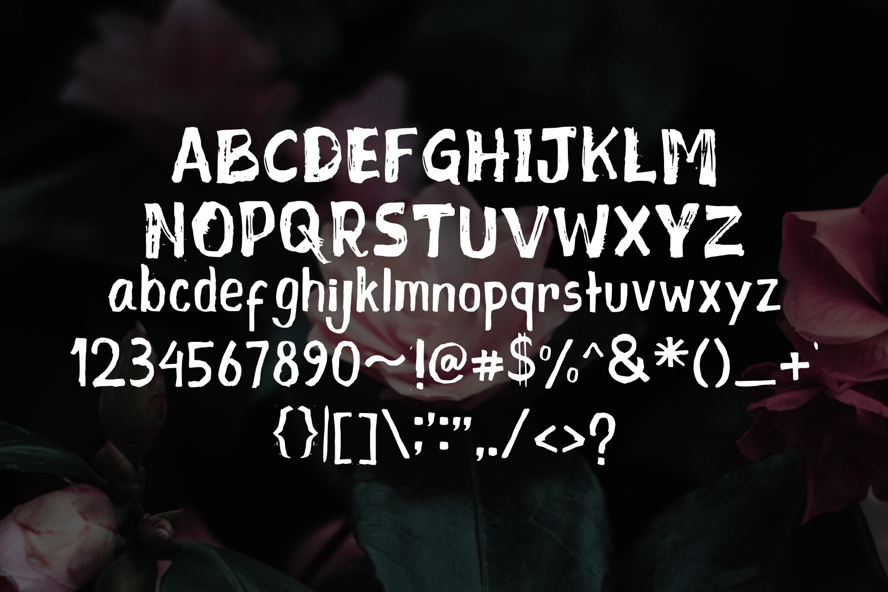 Mixed Feeling Font example image 4