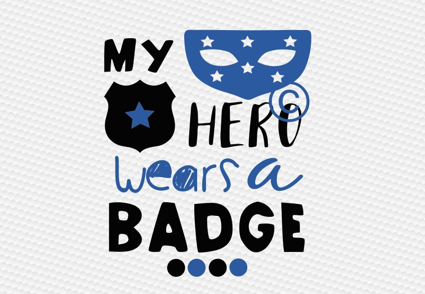 my hero wears a badge example image 2