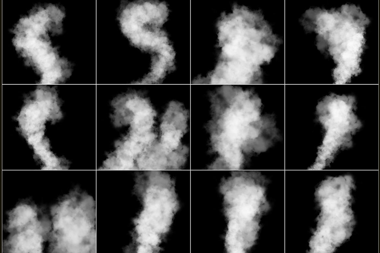 100 Cloudy Smoke Overlays example image 8