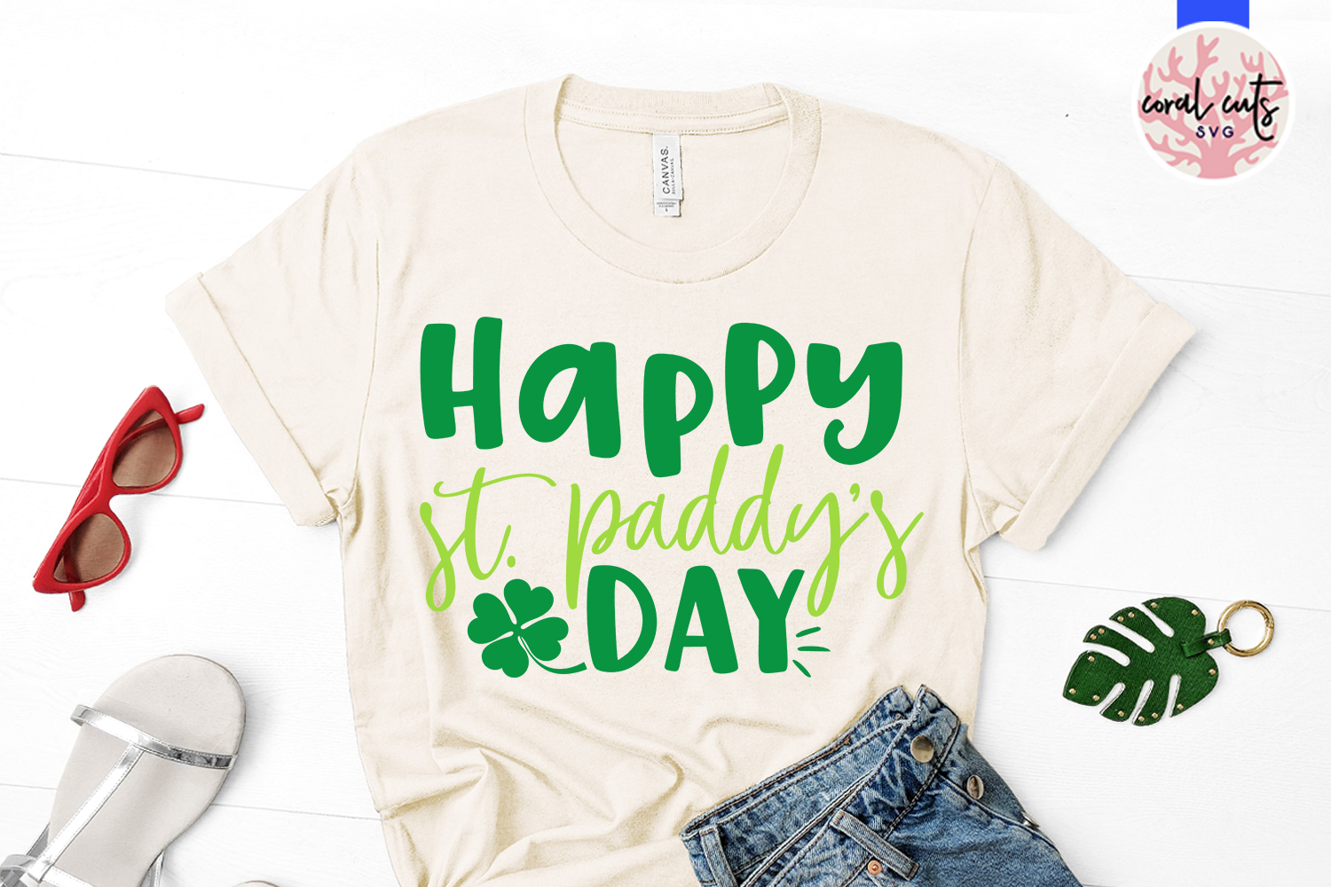 Happy st. patty's day - St. Patrick's Day SVG EPS DXF PNG example image 2