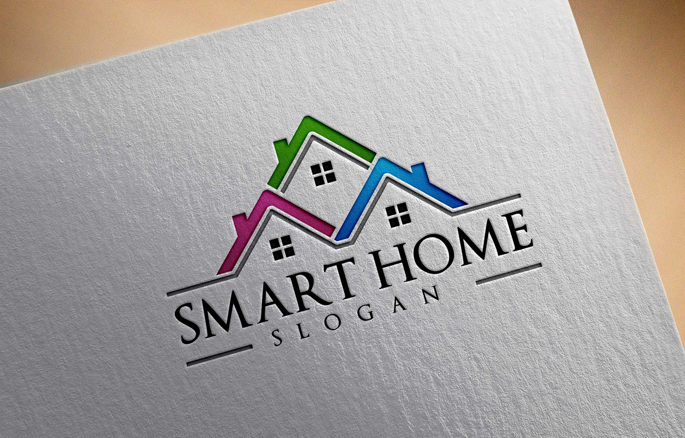 Real estate logo design, home,house example image 2