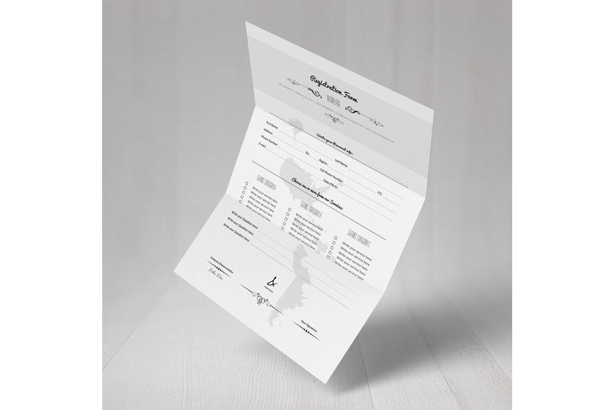 Registration Form Template v6 example image 5