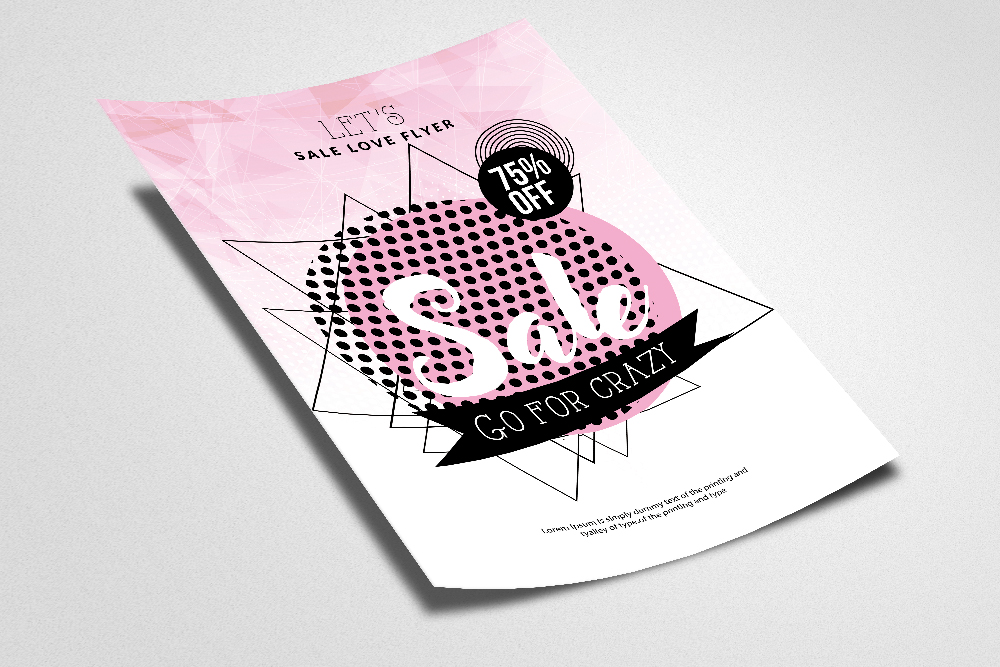 Sale Offer Typography Poster example image 2