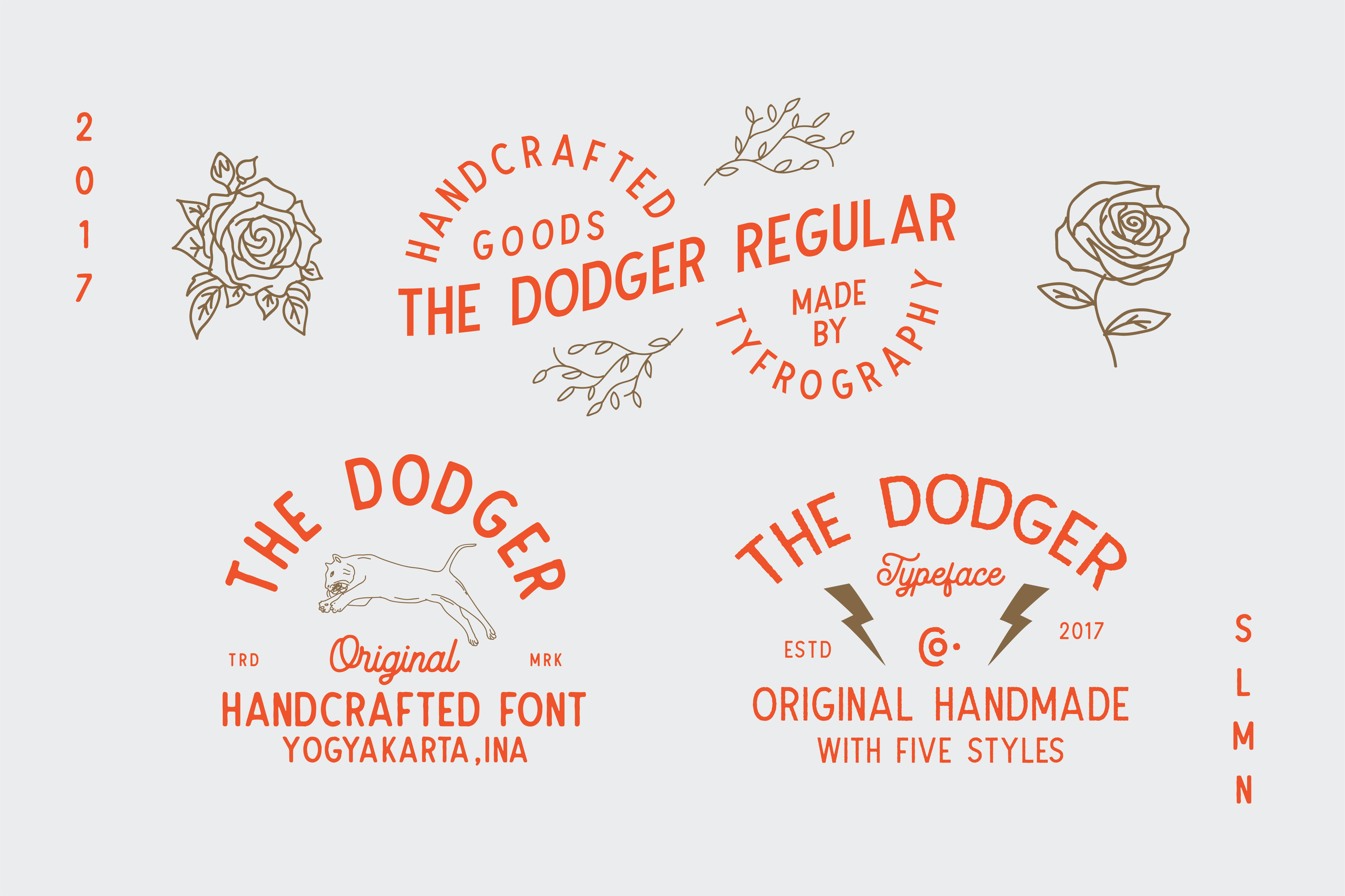 The Dodger + Extra Vector example image 5