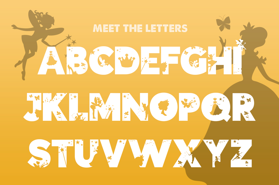 The Fairies Font example image 2