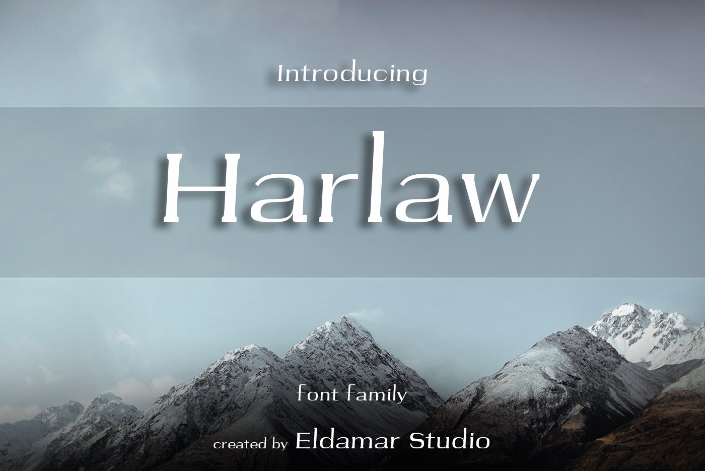 Harlaw Font example image 1