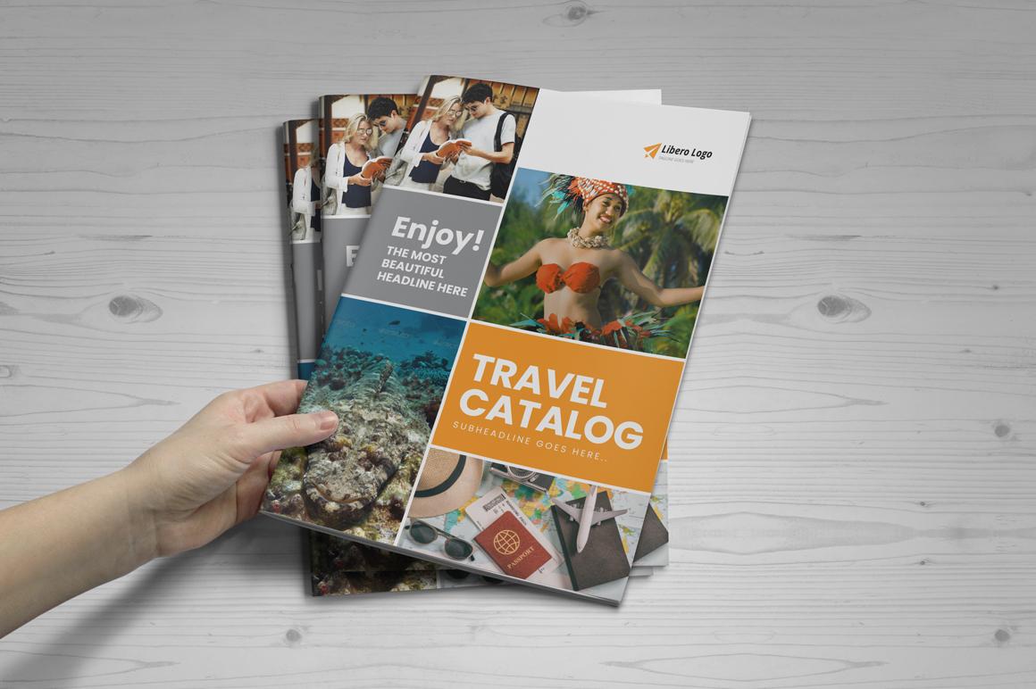 Holiday Travel Brochure Design v5 example image 12