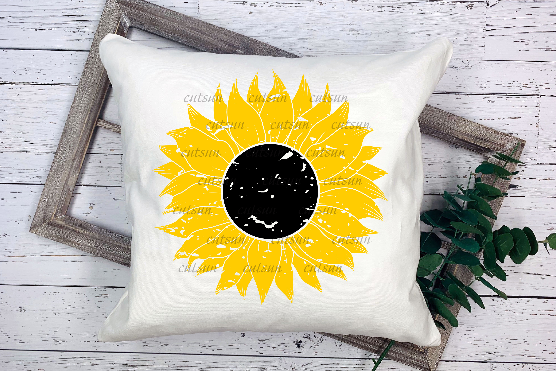 Sunflower SVG bundle   Floral bundle SVG example image 5