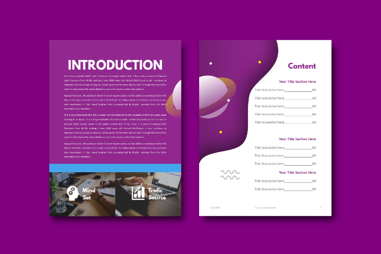 Social Media Marketing Tips eBook Template Keynote Presentat example image 3