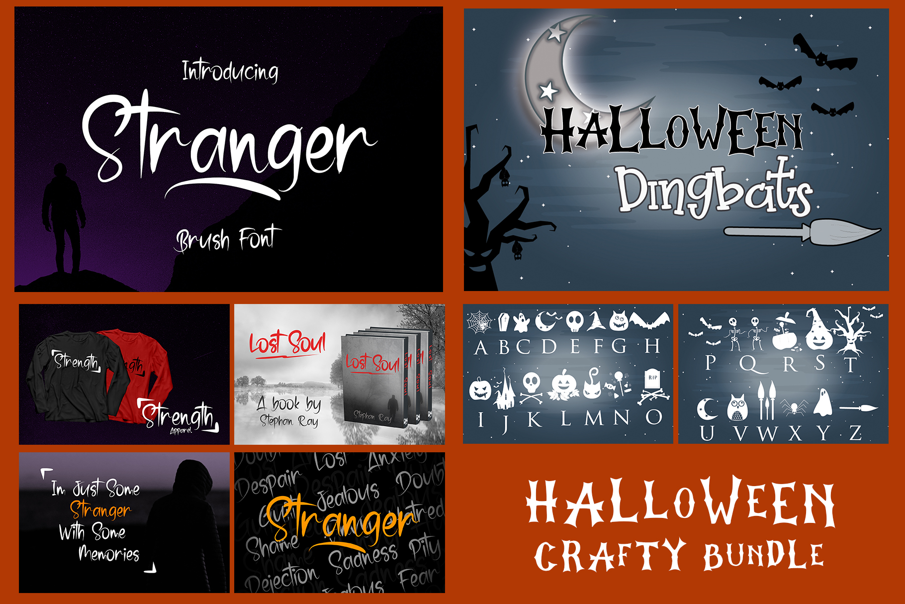 Best SELLER - Halloween Crafting Font BUNDLE example image 9