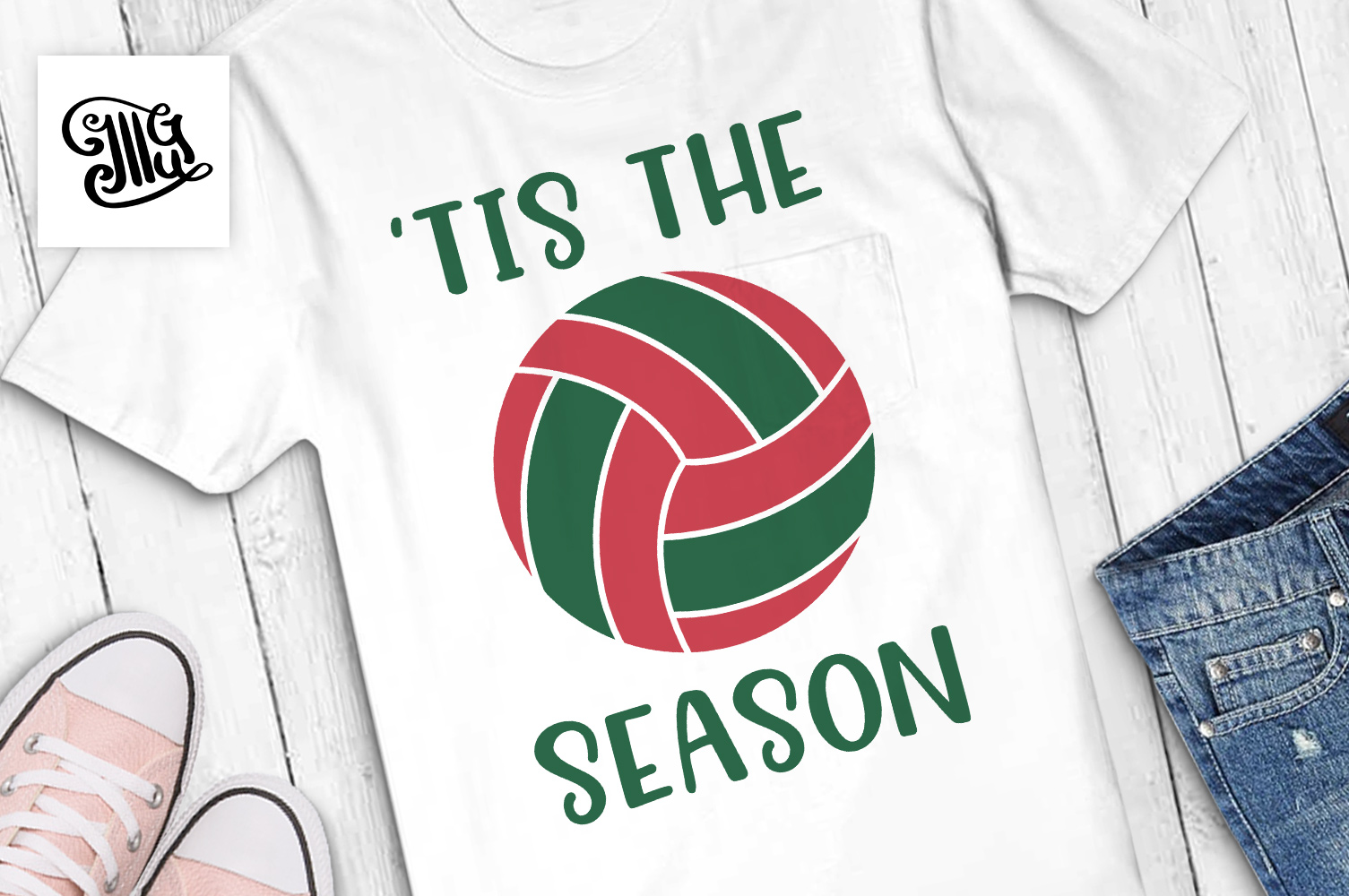 Volleyball svg bundle example image 28