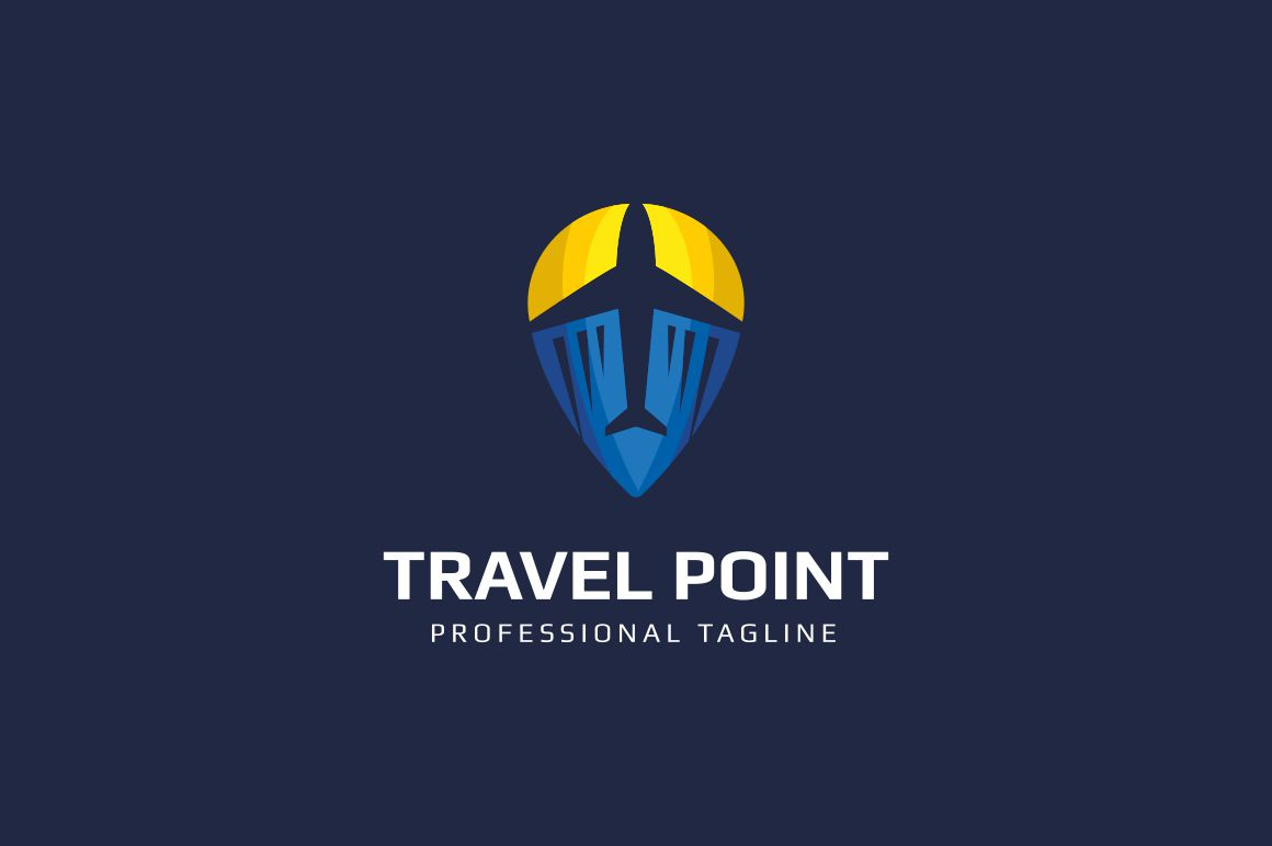 Travel Point Logo example image 2