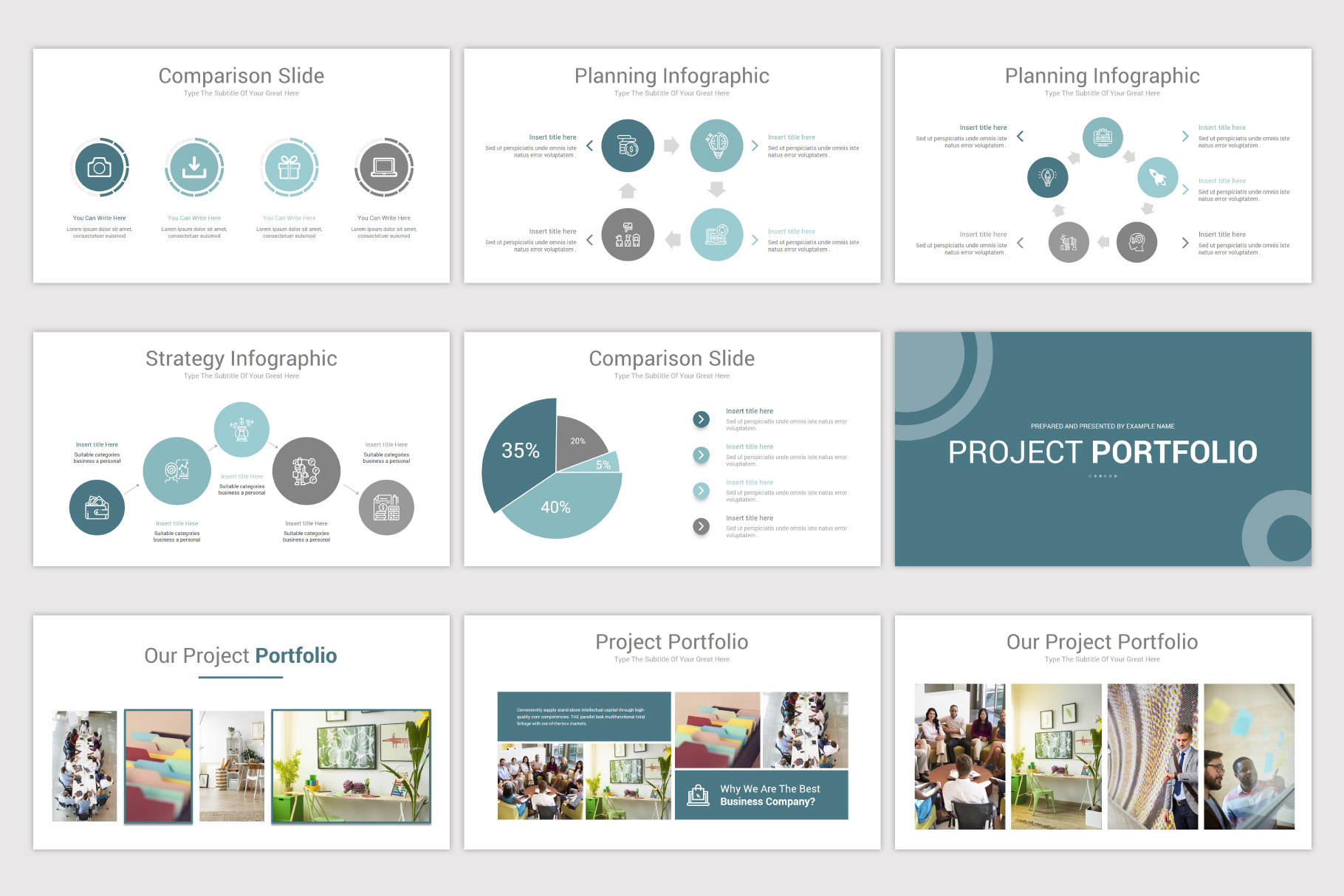 Simplicity PowerPoint Template example image 2