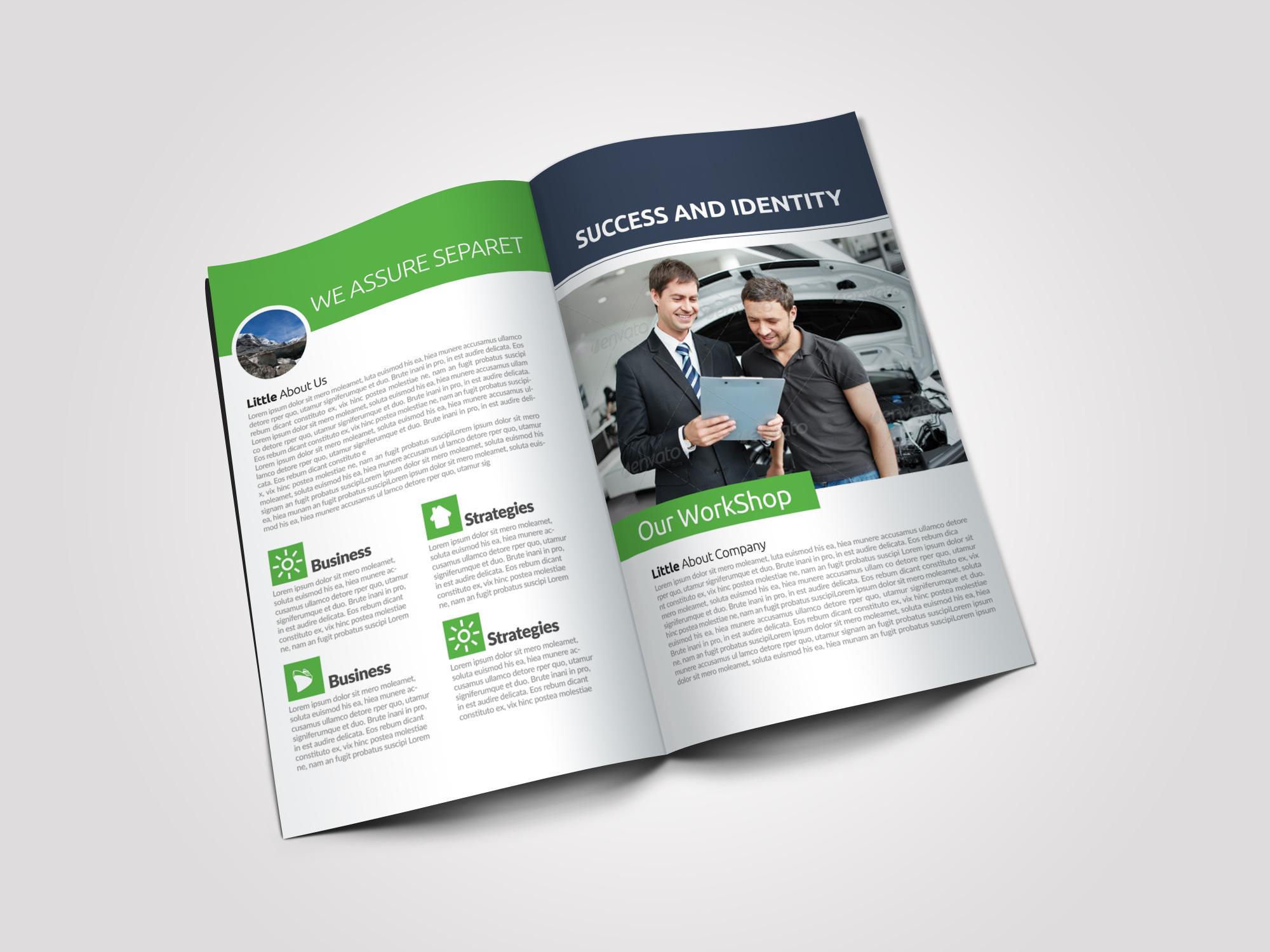 Car Repair Business Bifold Brochure example image 4