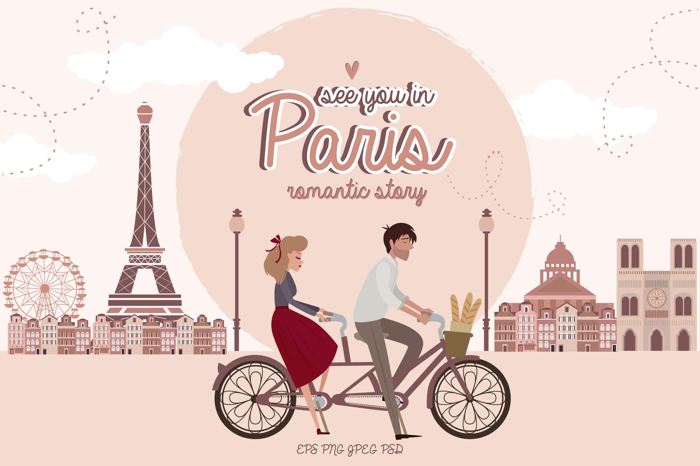 Paris. One romantic story example image 1