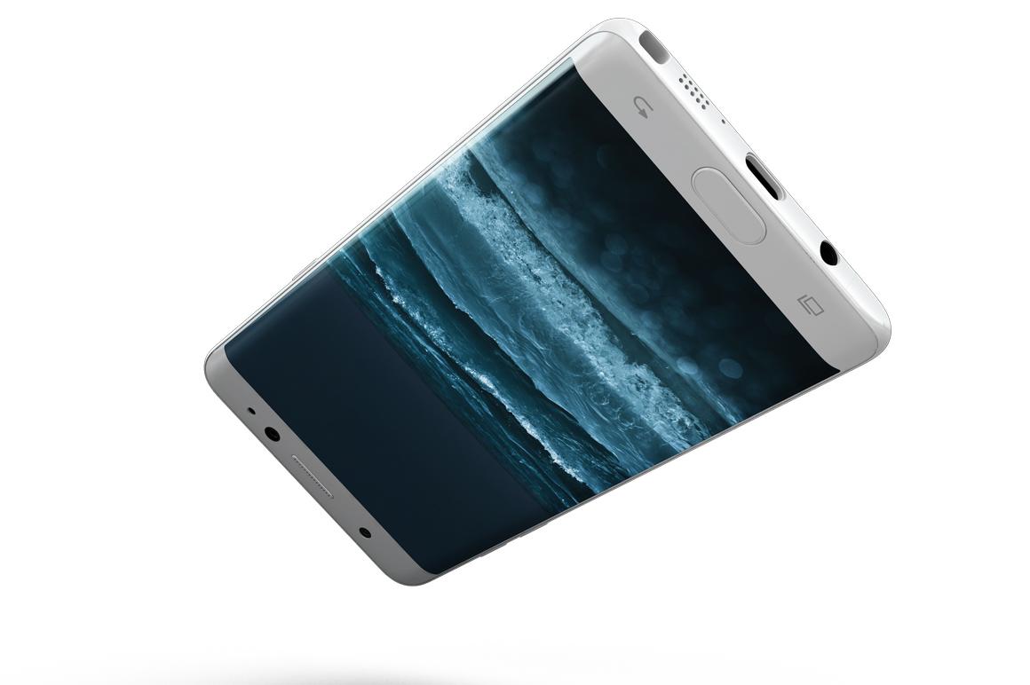 Samsung Galaxy Note 7 Gravity Mockup example image 9