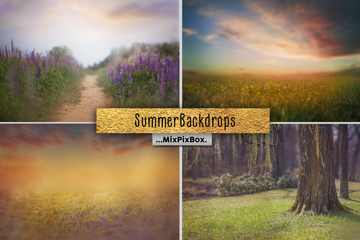 Summer backdrops example image 1