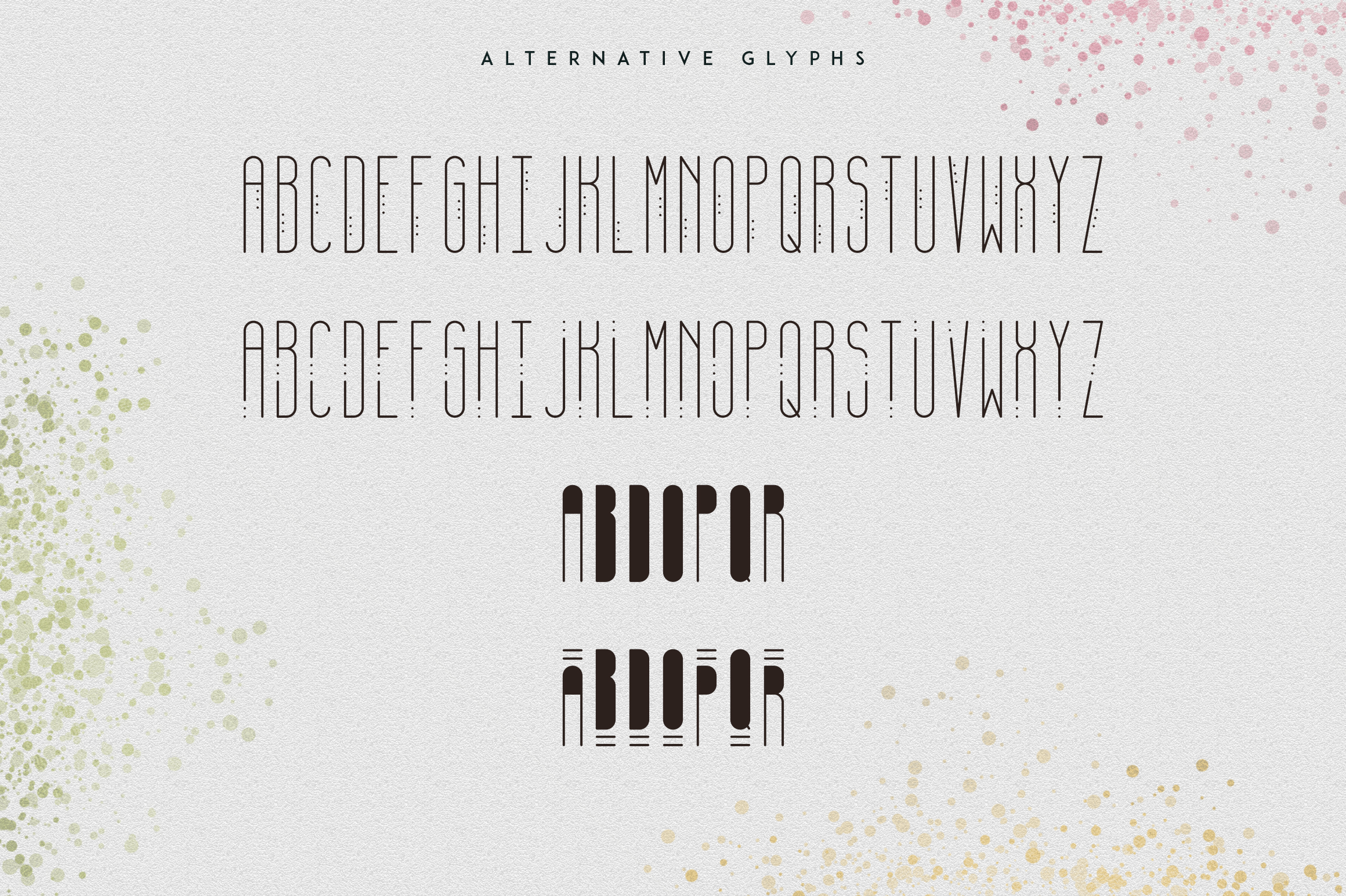 [Spring Vibes] April Display Font example image 7