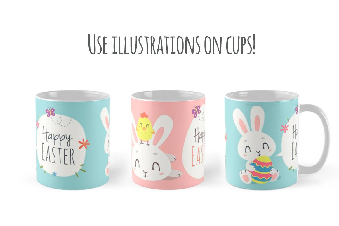 Easter Bunny Cartoon Set example image 8