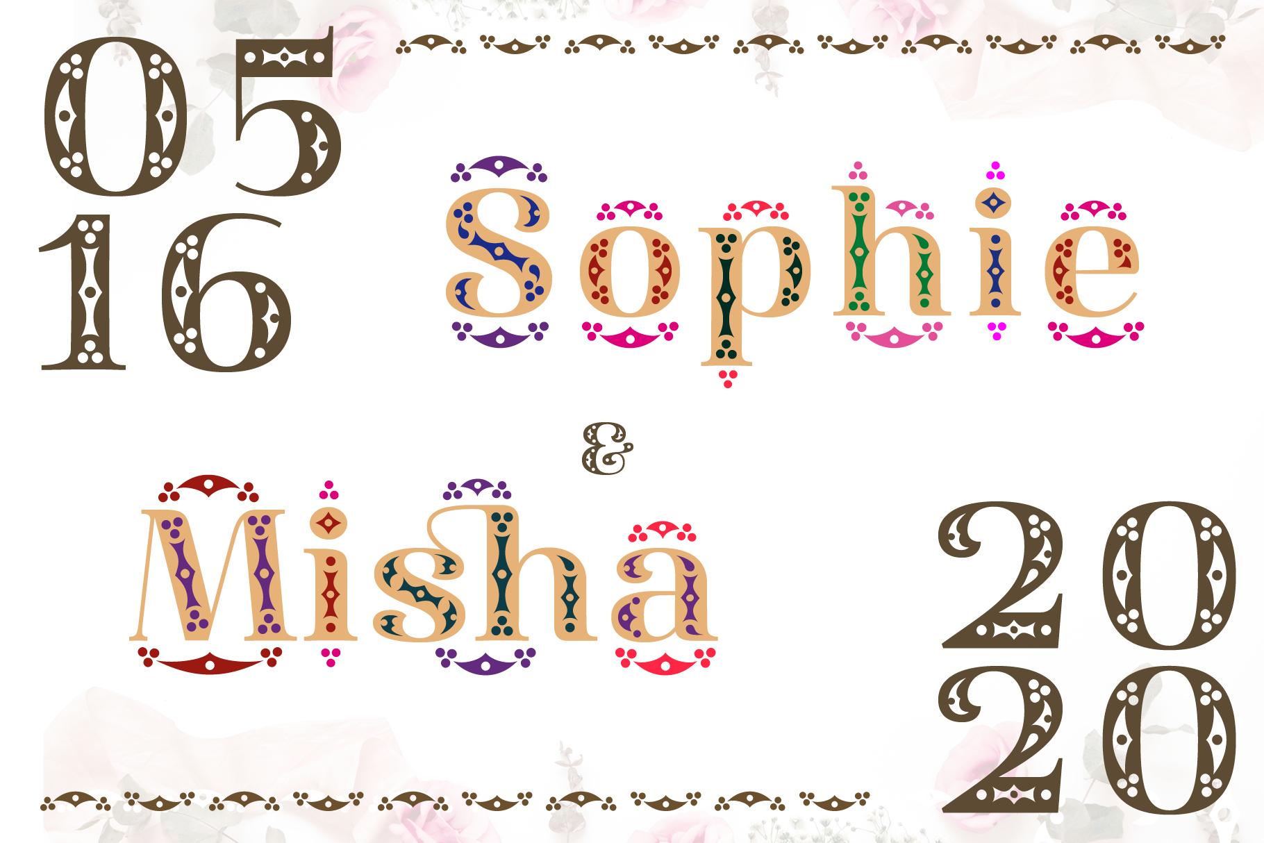 Diara Wedding Font example image 9