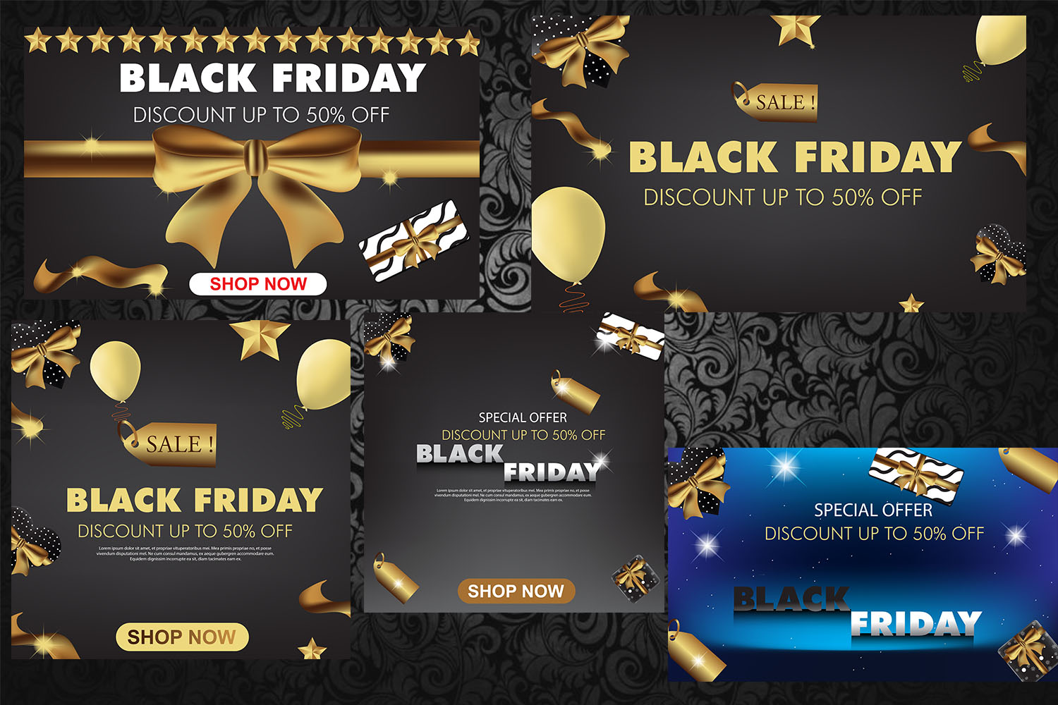 Black Friday Sale Template example image 3