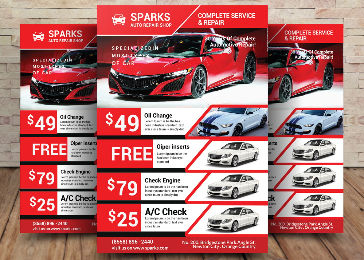 Car Business Flyer example image 1