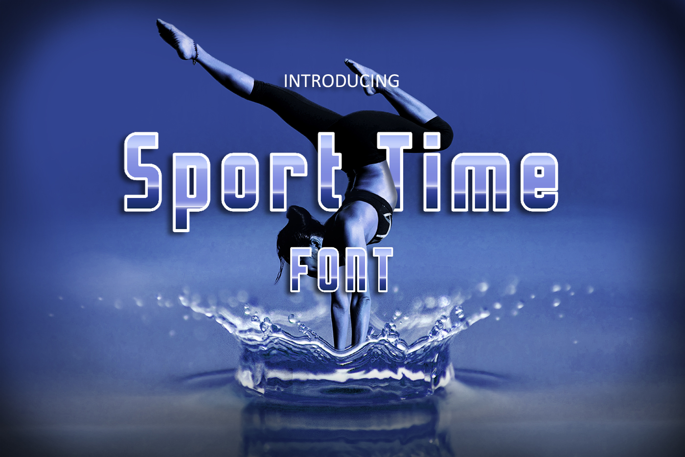 Sport Time Font example image 1