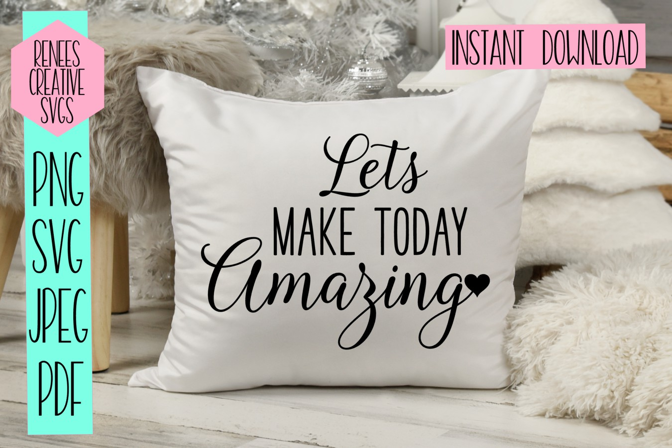 Lets make today amazing |Quote SVG | SVG Cut file example image 2
