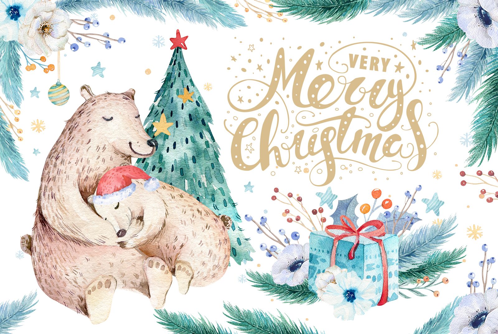 Christmas bear collection example image 6